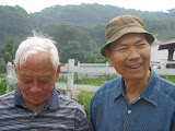 Ya-pei's dad and David Xie's dad