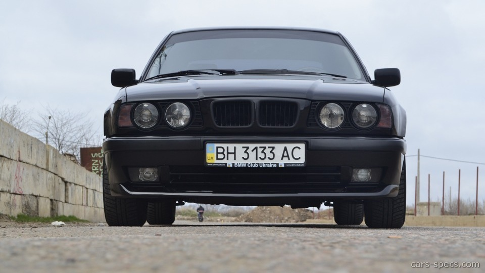 1990 Bmw 5 Series Sedan Specifications  Pictures  Prices