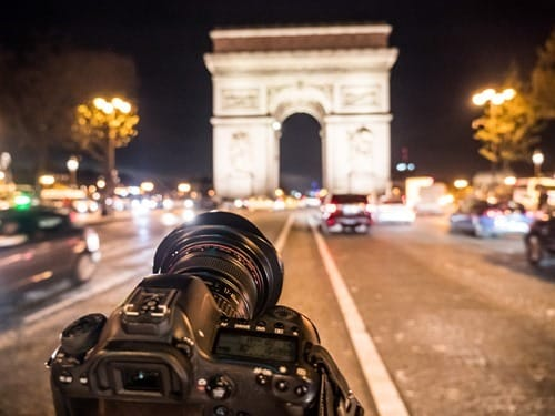 Shooting Arc de Triomphe