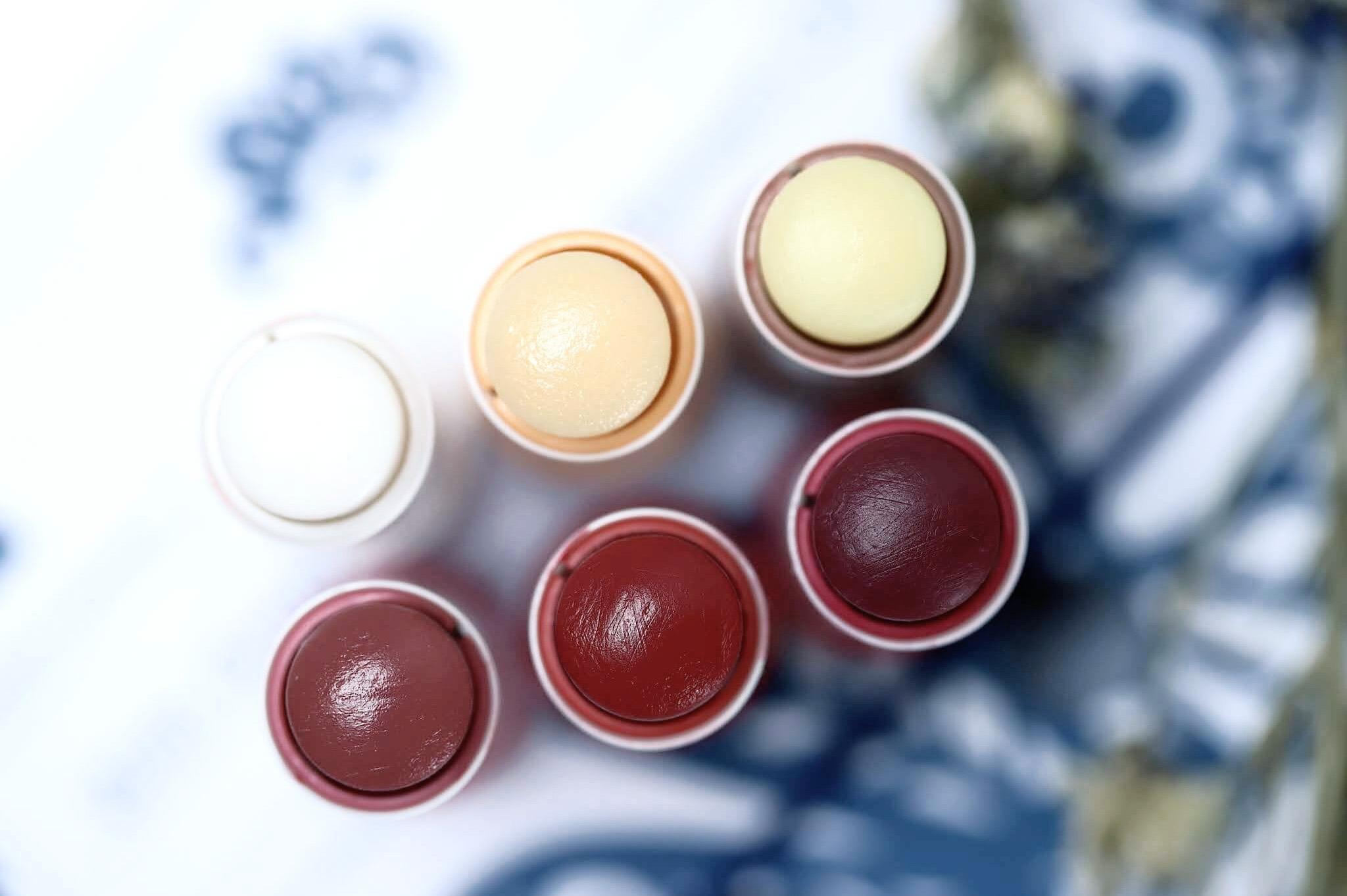 Korres Stick Lèvres Miel de Thym Yaourt Cacao Rose Sauvage Mure Raisin