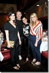 HOLLYWOOD, CA - MARCH 30: (L-R) Rodarte Co-Founder Laura Mulleavy, Coach Creative Director Stuart Vevers, actor Haley Lu Richardson, and Rodarte Co-Founder Kate Mulleavy attend the Coach & Rodarte celebration for their Spring 2017 Collaboration at Musso & Frank on March 30, 2017 in Hollywood, California  (Photo by Donato Sardella/Getty Images for Coach)