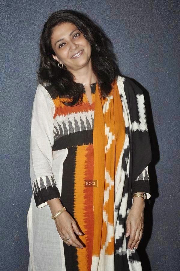 Lubna Salim during the play Tajmahal Ka Udghatan, in Mumbai, on July 24, 2014. (Pic: Viral Bhayani)