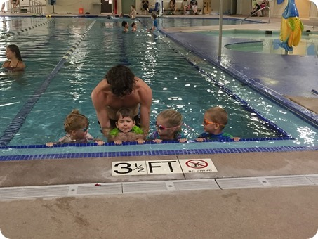 Last Day of Swimming Lessons