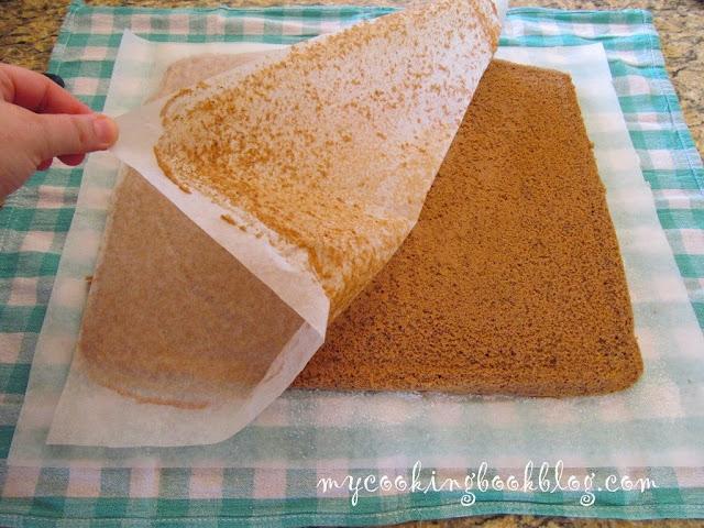Пандишпанов блат за руло или торта