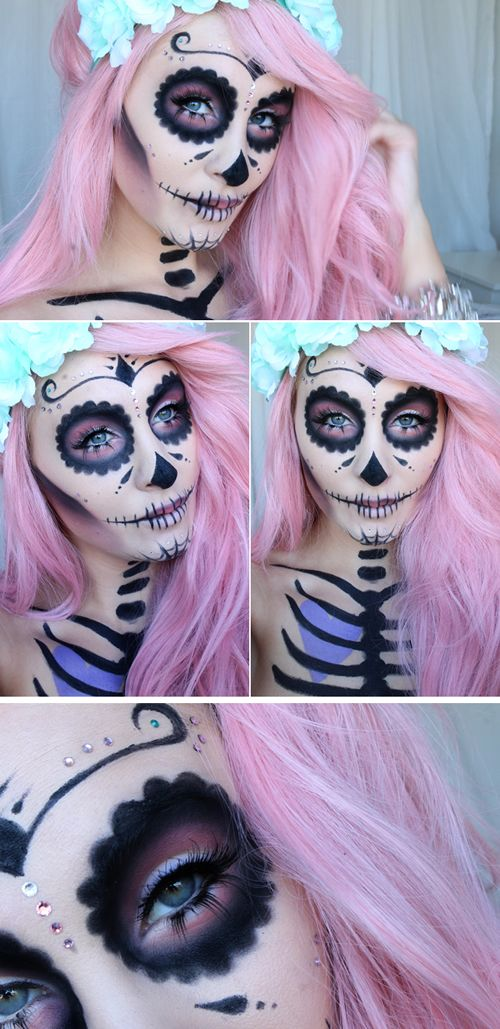 +22 Cool Hairstyles Ideas from Mexican Catrinas 2018 2