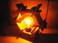 L-01 六角ランプ(S) kumiko hexagonal lamp(S)
