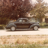 My 39 Ford Std coupe, built it in 1978, sold in 1986 now in GA, 401 powered.