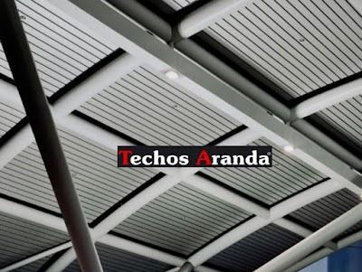 Precio Economico de Falsos Techos Aluminio Madrid