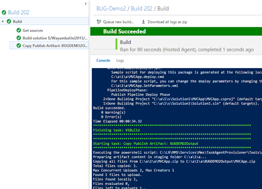 Chaminda's DevOps Journey with MSFT: Part 1 Build ASP Net 4