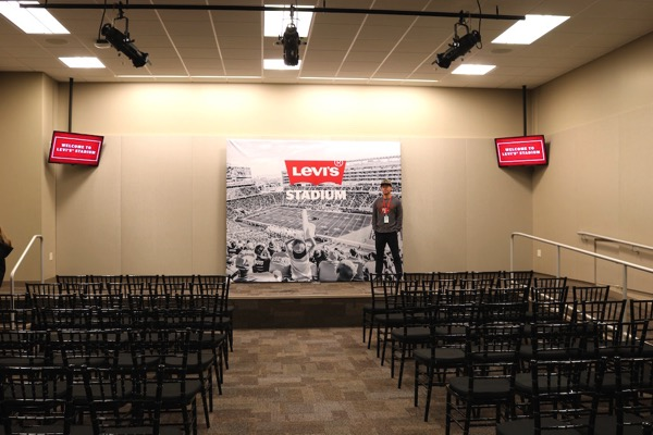 Levi s Stadium Visiting Team Press Room