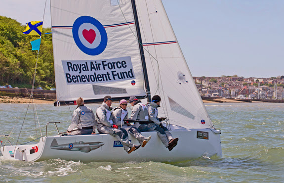 J/70 SPITFIRE sailed by Royal Air Force Sailing Squadron