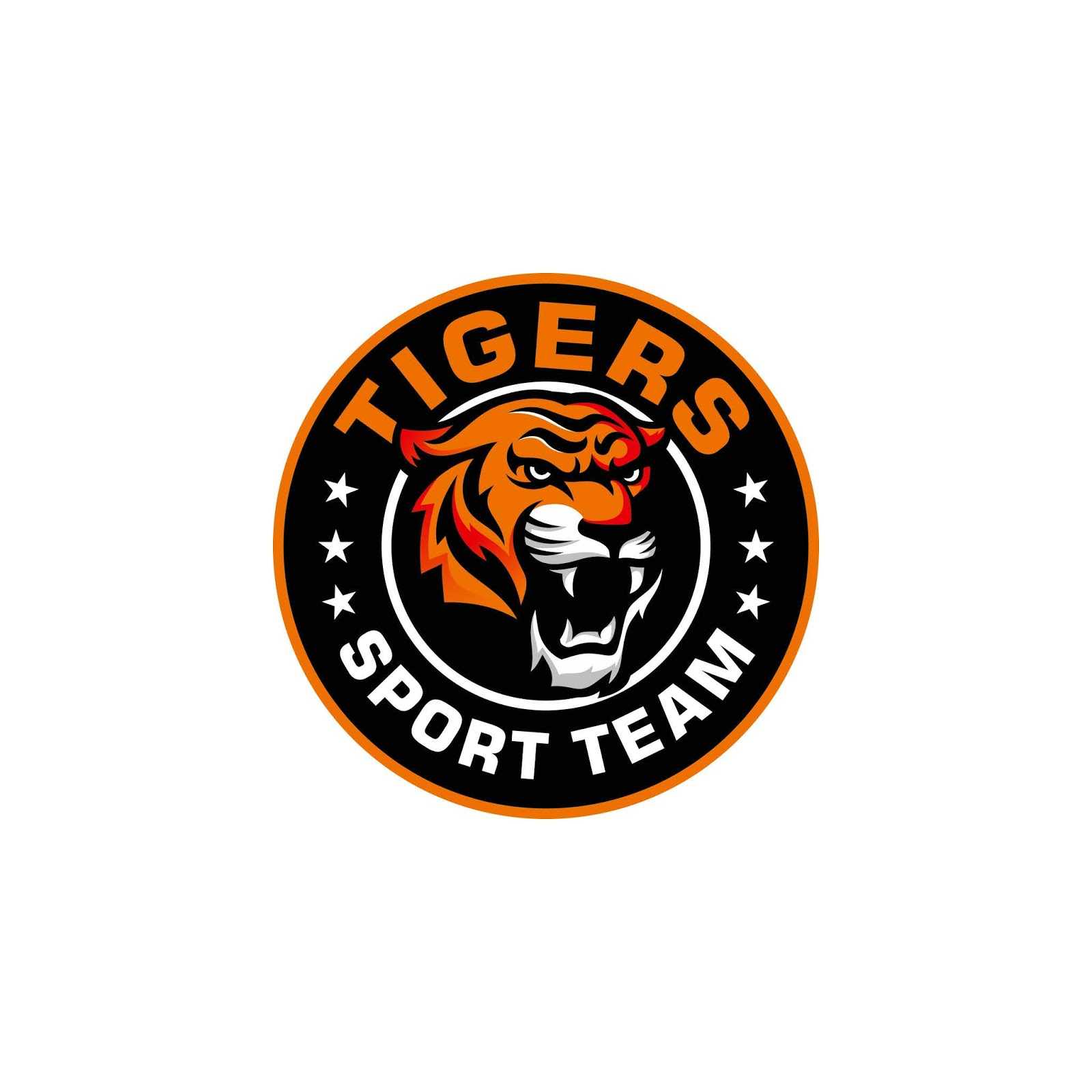 Roaring Tiger Funy Free Download Vector CDR, AI, EPS and PNG Formats