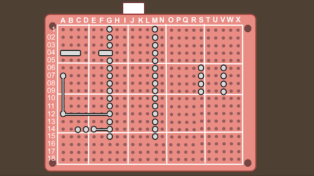 Synth build guide MIDI circuit 4