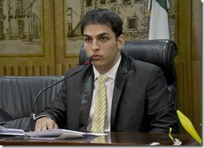 Maurício Gurgel no Plenário - Foto Verônica Macedo