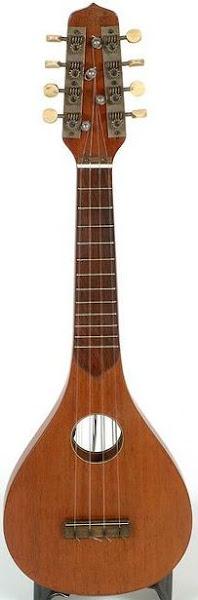1925 Tuarturro Turnover  Ukulele/Mandolin Uke Side