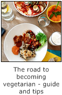 the road to becoming vegetarian - guide and tips