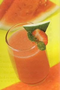 Jus Strawberry Campur Semangka