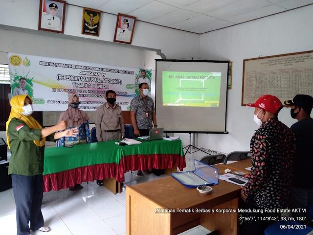 BBPP Binuang Latih Petani Food Estate Susun Rencana Bisnis