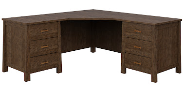 Luxor L-Shaped Desk