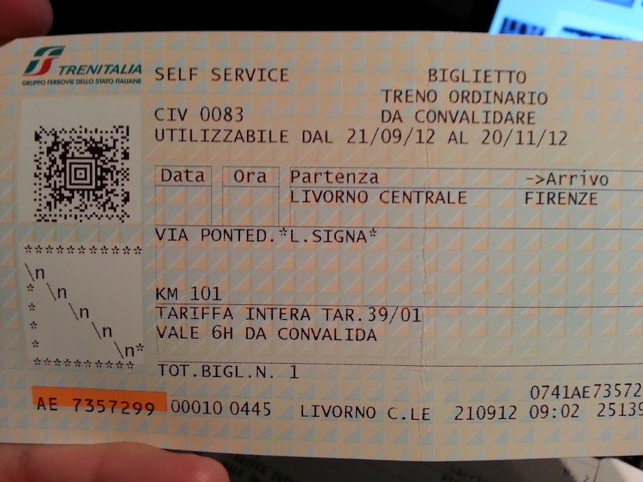 train from livorno to florence - photo#21