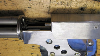 Photo: Indexing pin welded in