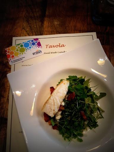 Halibut - a fantastic dish at Tavola, St. John's, Newfoundland
