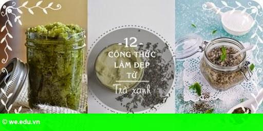 Hình 1: Khám phá công thức làm đẹp hoàn toàn mới mẻ từ trà xanh
