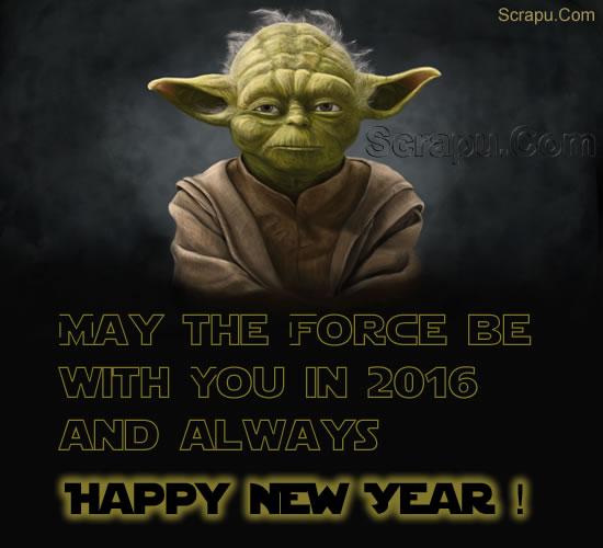 New-Year scraps