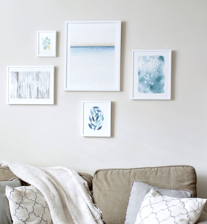 Minted Wall Gallery Beach Prints