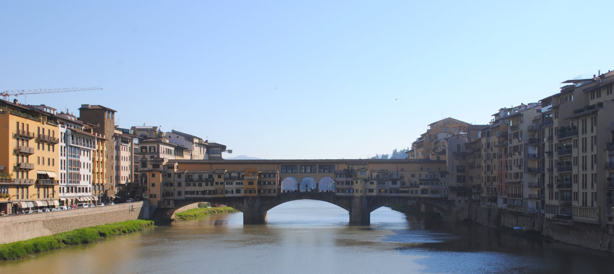 My Photos: Italy -- Florence -- Walking Along the Arno