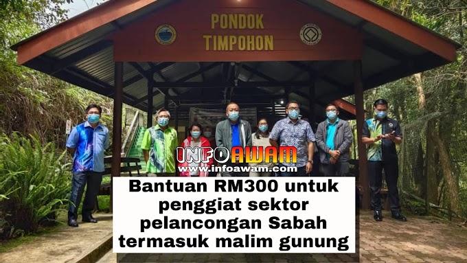 Bantuan RM300 untuk penggiat sektor pelancongan Sabah termasuk malim gunung