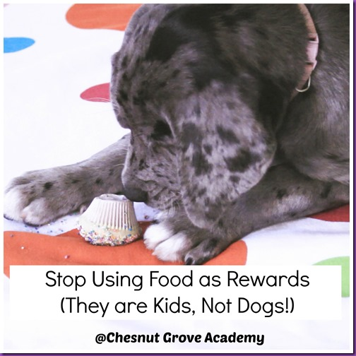 STOP Food as Rewards