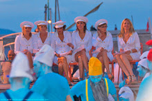 Blue Man Group performs at Les Voiles St Tropez