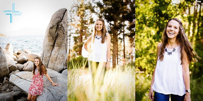 Tahoe Senior Portraits