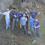 Service Saturday @ Lake Brownwood for Access Fund's Adopt-a-Crag 2006