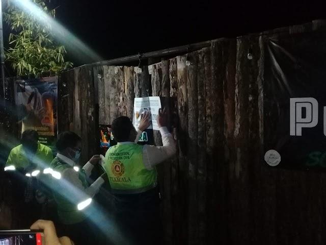 Protección Civil Municipal de Zacatelco y del Estado endurecen las medidas