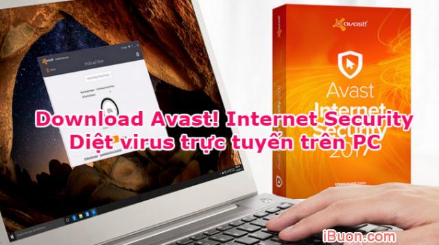 Download Avast! Internet Security - Diệt virus trực tuyến trên PC + Hình 1