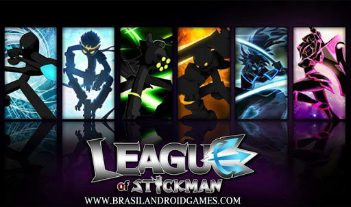 League of Stickman: Warriors Imagem do Jogo