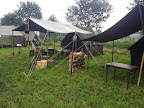 Army tents - Market Garden basecamp in Veghel. September 2014