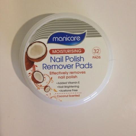 Nicole S Beauty Babble Manicare Nail Polish Remover Pads