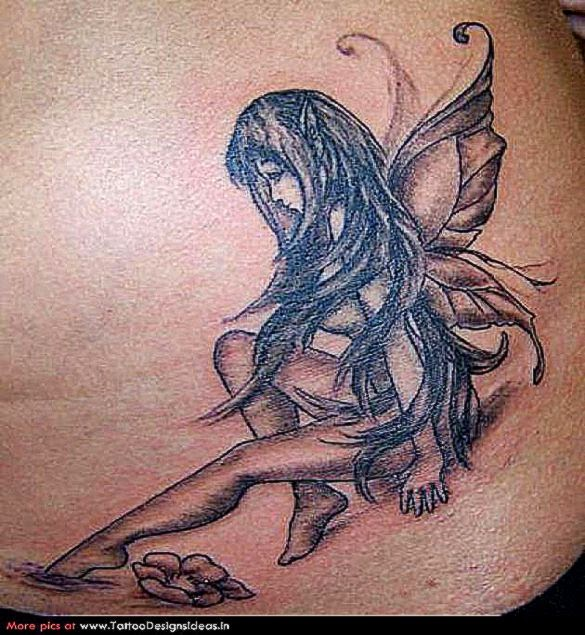 fairy tattoo free tattoo pictures. Black Bedroom Furniture Sets. Home Design Ideas