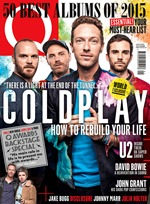 Q Magazine Coldplay cover