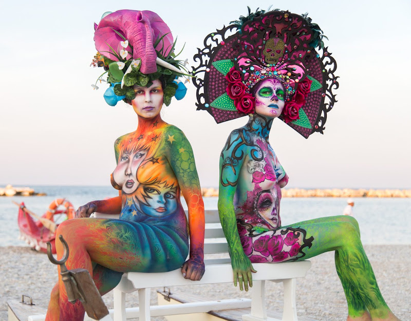 IMG_5123 Color Sea Festival Bodypainting 2018