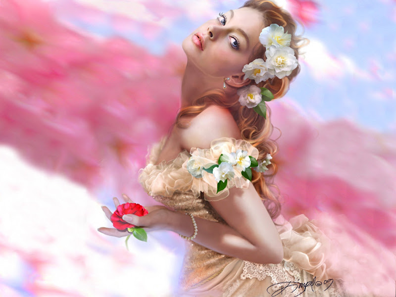 Rose Heart Of A Girl, Magic Beauties 3