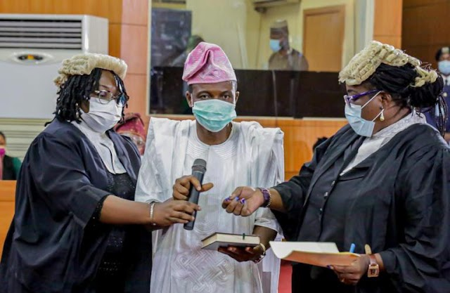 Lagos Assembly Swears In Hon. Saheed Wasiu Obafemi Days After By-Election ~Omonaijablog