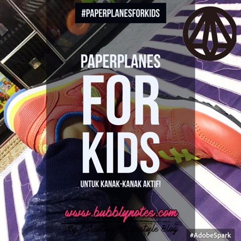 PAPERPLANES FOR KIDS UNTUK KANAK-KANAK AKTIF!