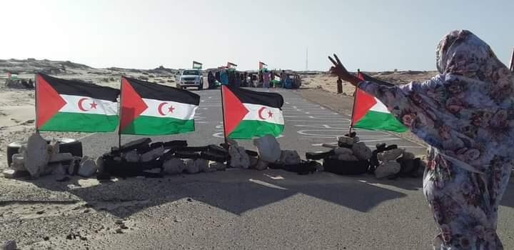Decimocuarto día de cierre de la brecha ilegal de Guerguerat; La Comunidad  saharaui y el movimiento solidario español cierran filas en torno al Frente  Polisario.