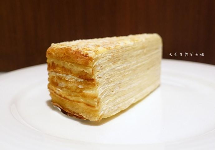 21 台南 深藍咖啡館 千層蛋糕