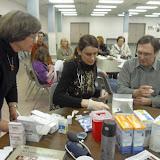Spotkanie medyczne z Dr. Elizabeth Mikrut przy kawie i pączkach. Zdjęcia B. Kołodyński - SDC13522.JPG