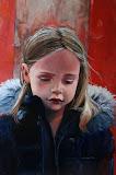 Esther - 60 x 80 cm - olieverf op paneel (opdracht)